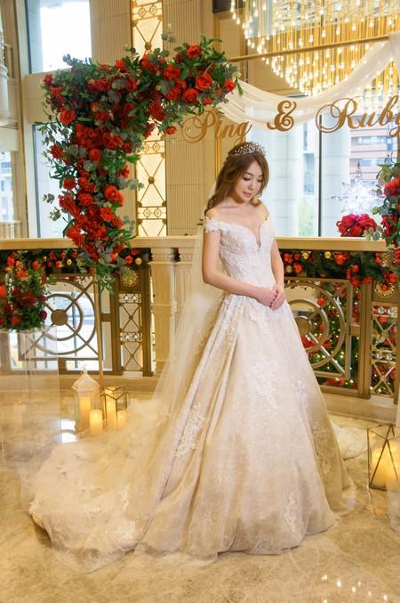 Kylie Tsai bride-宛倩