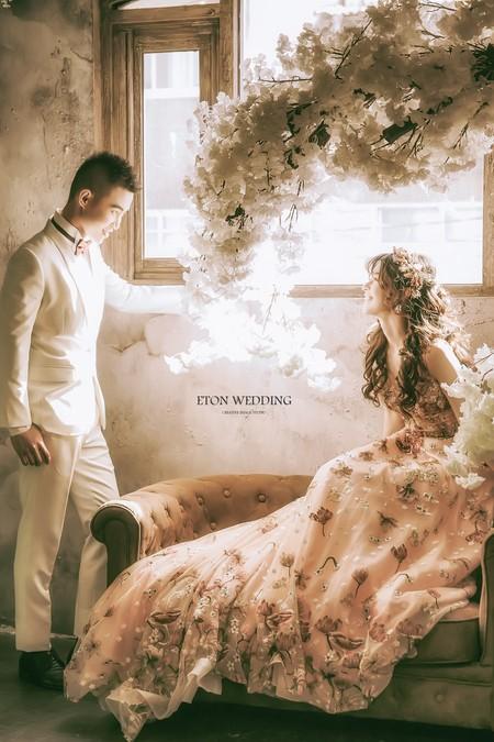 💟藏不住的甜蜜-台北婚紗推薦-伊頓自助婚紗💟