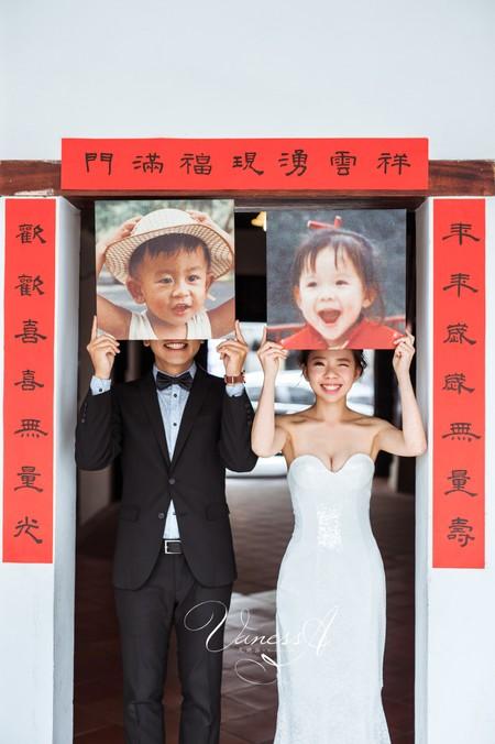 Yu ❤ Yu 桃園vanessa 手工婚紗。攝影工作室