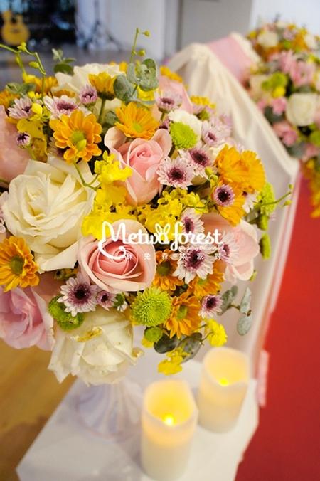 【客製婚禮】台北基督之家 / 證婚儀式