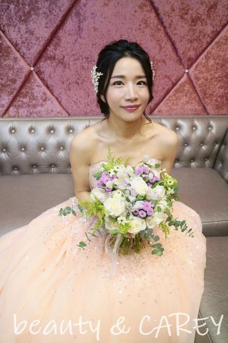 饅頭爸新祕團隊-Carey嘉芯 ❤ 欣瑩 - 婚宴造型