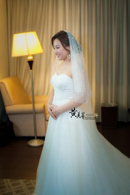雅婷 結婚整體造型