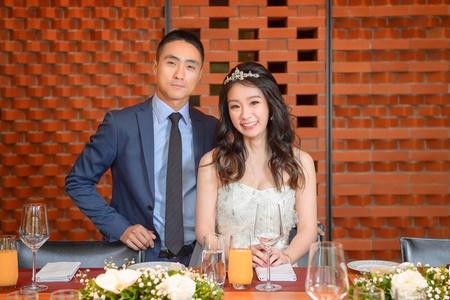 婚攝 為定&書蓉 美式婚禮 婚禮紀錄@誠品行旅 eslite hotel