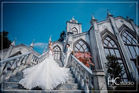HC婚紗照 x 攝影基地