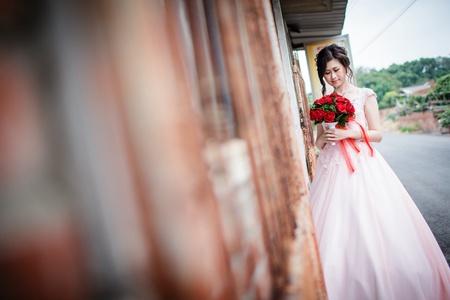 淡雅幸福的婚禮