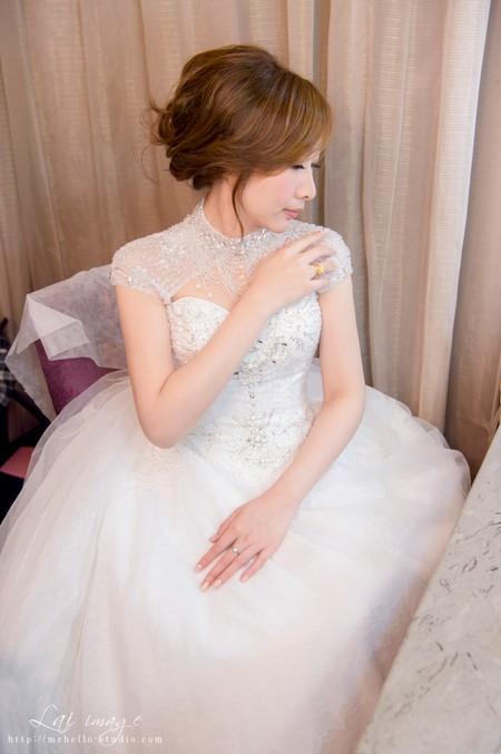 #新娘整體造型#♥小霜婚宴