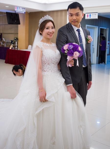 新娘婚宴白紗造型