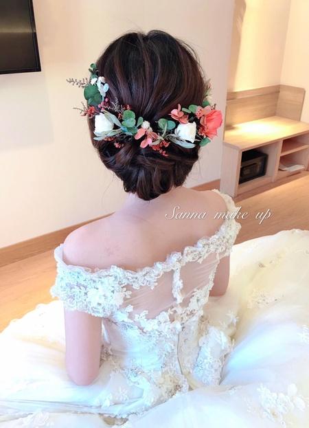 韓風優雅盤髮