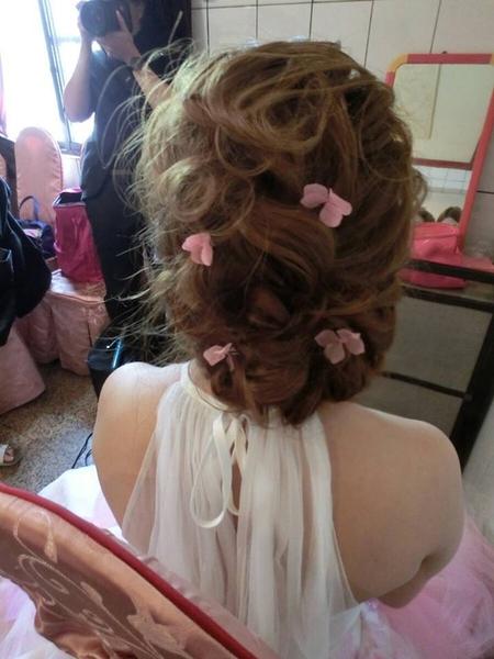 夢幻編髮造型  佳玲婚宴