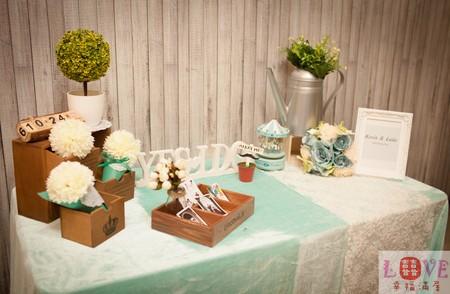 2號相簿桌套餐❤zakka風Tiffany款-全省可寄送