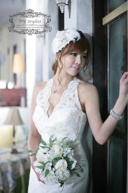 韓系白紗唯美造型