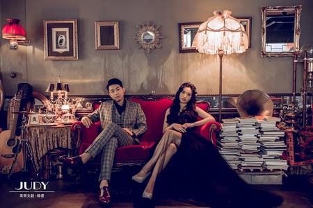 靖峻❤️宜馨-JUDY茱蒂文創婚禮-外拍景點推薦-黑森林-韓風內景