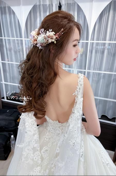 新娘髮型~知性名媛新娘造型