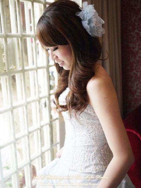 #台北新秘#甜美氣質造型 Wen訂結婚@青青時尚會館