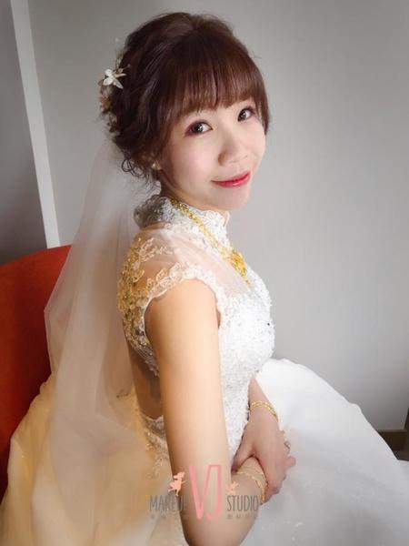 ~NEW~可愛活潑高盤髮+蝴蝶結公主頭5/19思婷