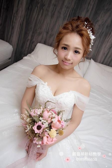 ♥ 美炸到上三立新聞 ♥ 讓人想戀愛夢幻新娘妝