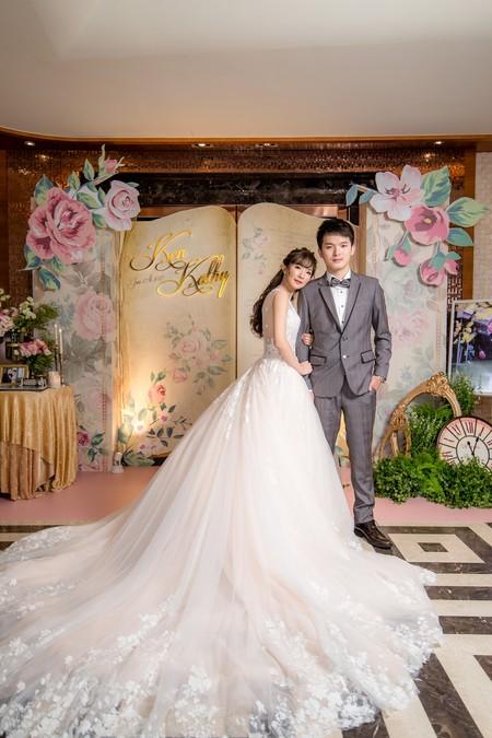 [婚禮攝影] 志傑&楚兒 / 訂婚 / 富城閣宴會莊園