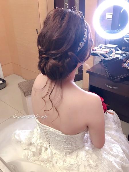 韓風低盤髮