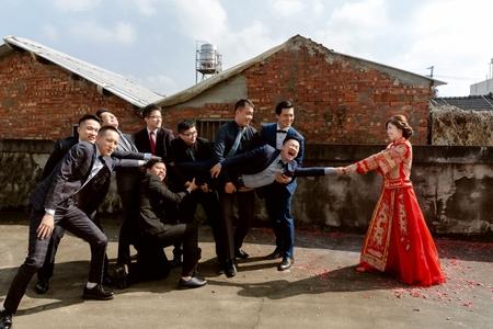 婚攝婚禮紀錄|台中臻愛婚宴會館|Inge Studio英格影像