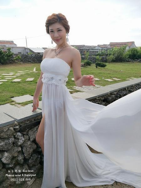 仙仙風 白紗造型