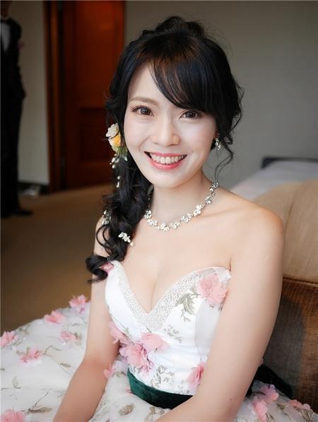 饅頭爸新秘團隊-珊婷 ❤ 宜琴結婚