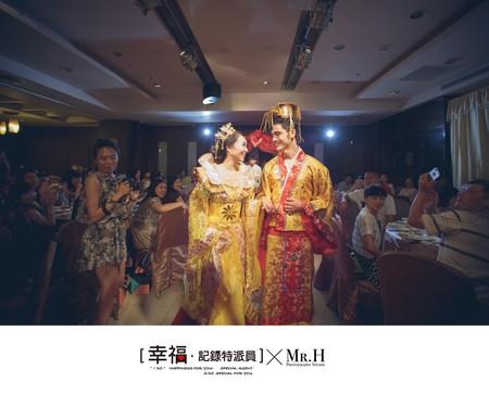 【婚禮記錄】- 愛。不分國界(珠江美食會館)
