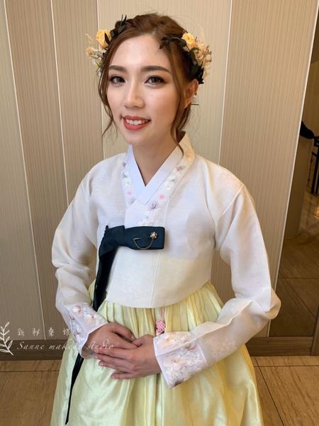 韓國婚禮/清新韓服造型
