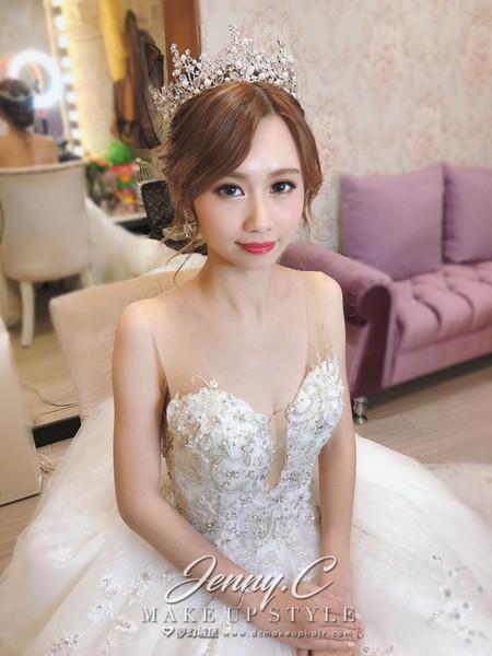 新秘蓁妮-新娘婚宴造型/徐家堡婚宴
