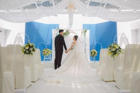 爆米花 婚禮攝影 東東宴會式場-頂樓證婚