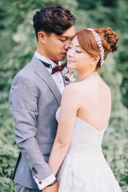 Sean & Tiffany / 六福萬怡酒店 / 美式風格 / 戶外證婚