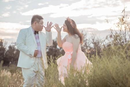卡蒂亞藝術婚紗 新人作品 自然互動