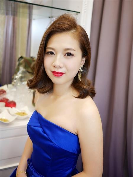饅頭爸新秘團隊-珊婷 ❤ 紫婷訂結婚