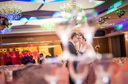 用第二角度繪出愛的婚禮[佳慶&蕎薇-新莊富基時尚婚宴會館]