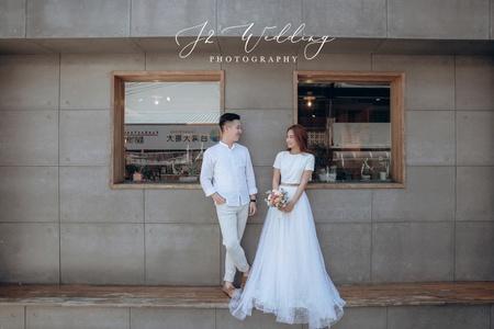 J2 wedding 板橋 中壢 韓風自然