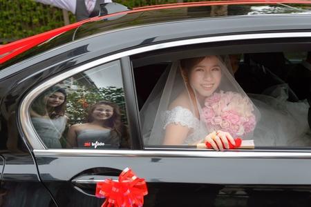 婚攝 Nick & Angela 證婚儀式 美式婚禮 戶外婚禮 婚宴@維多麗亞酒店
