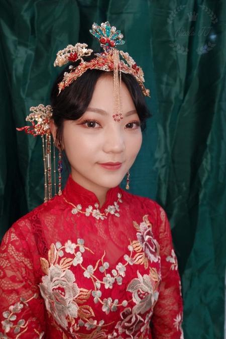 Elena中式嫁衣