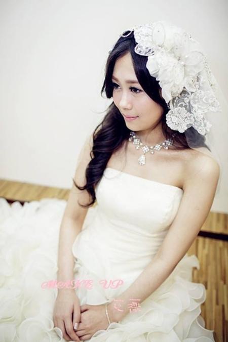 浪漫白紗造型