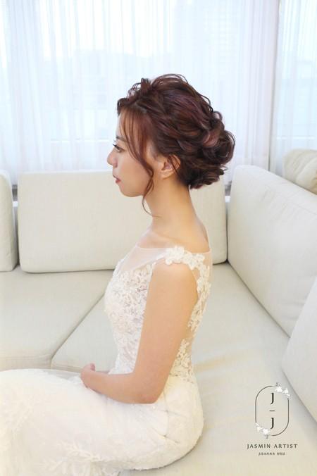 Bride -- 孟慧 編髮造型