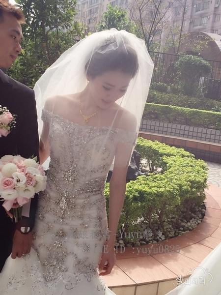 冠伶結婚造型