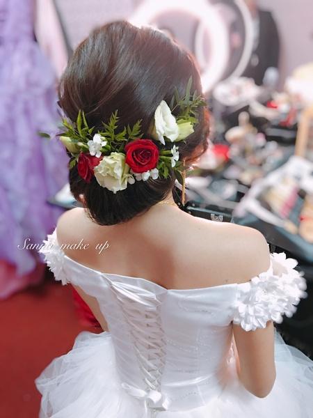仙氣 鮮花造型