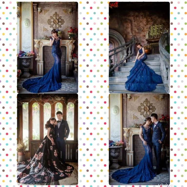 比堤婚紗 推薦新人:Mr. Lo&Mrs. Weng 魚尾款禮服好美