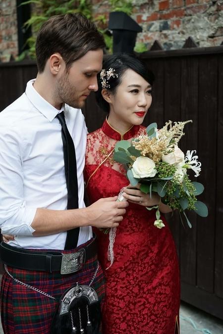 東方美 幸福西式花嫁