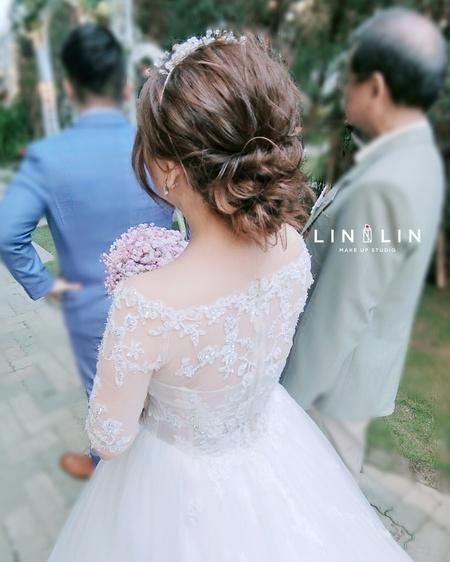 ❤韓風線條新娘髮型😍