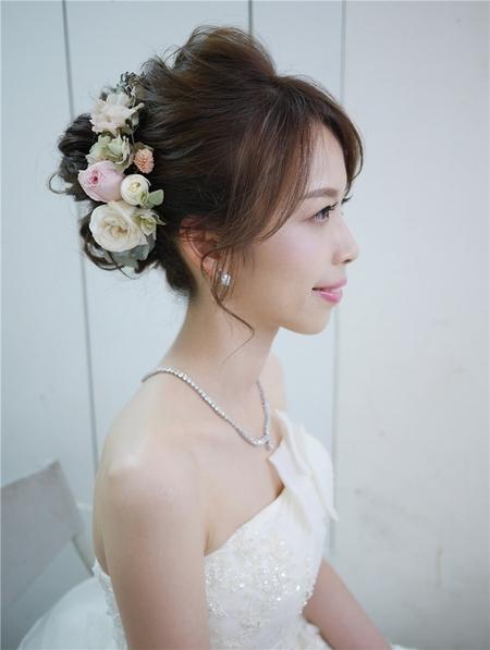 饅頭爸新秘團隊-珊婷 ❤ 佳琦訂結婚