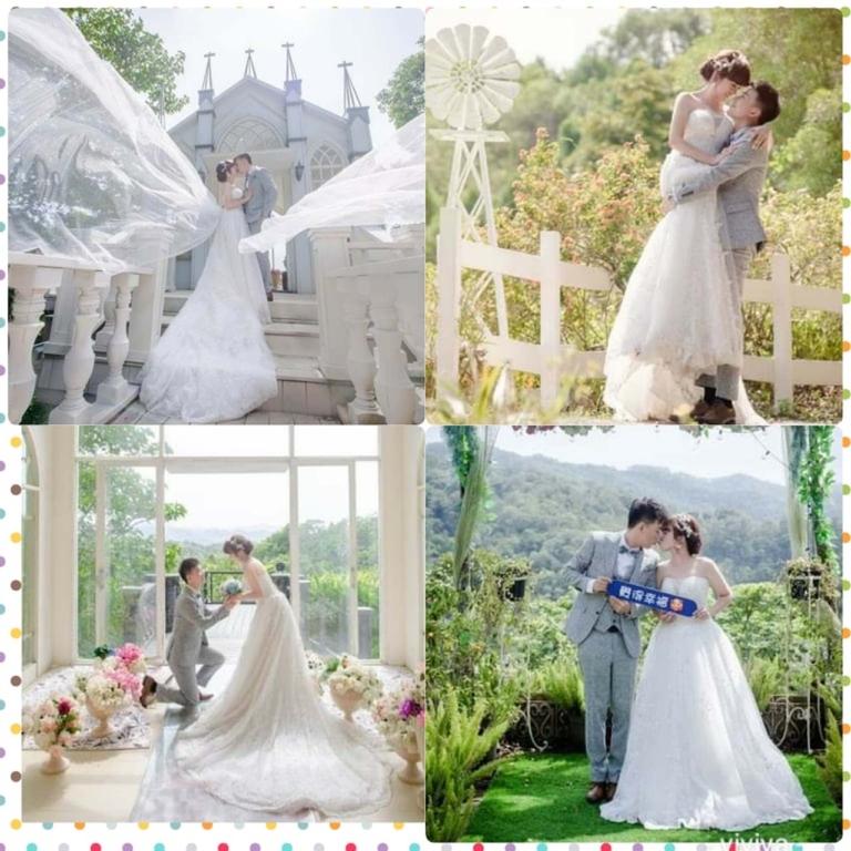 比堤婚紗 推薦新人:Mr. Lo&Mrs. Weng 攝影基地拍攝白紗