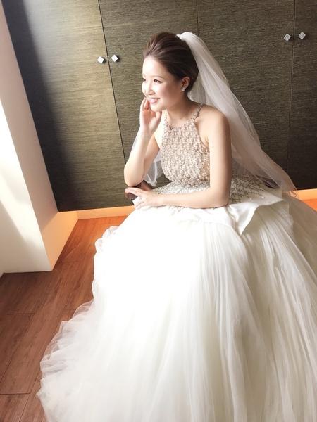 Abby結婚造型@翡麗斯莊園