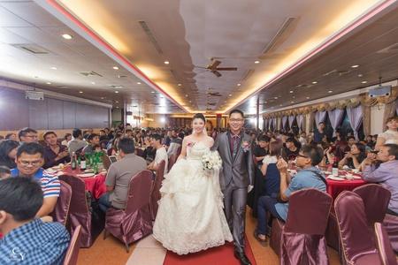 婚禮紀錄WEDDING | 台南-大統喜宴餐廳 | 幸運草攝影工坊