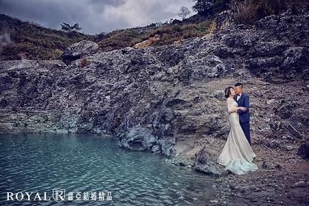 陽明山龍鳳谷婚紗照