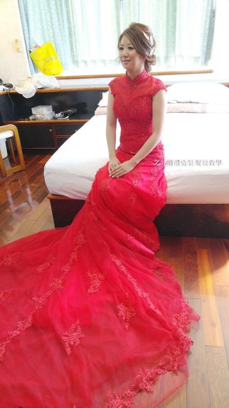 Zoe幸福新娘~雯(訂結婚宴造型)