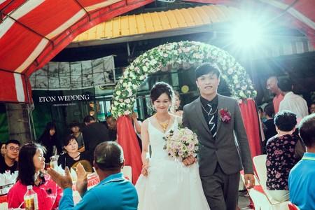 【婚禮攝影精選】台南伊頓婚紗推薦🎀